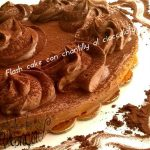 Flash cake con chantilly al cioccolato