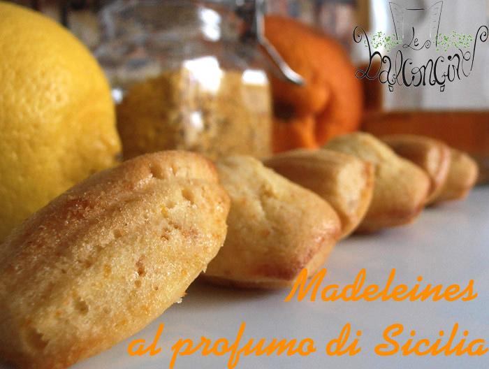 Madeleines al profumo di Sicilia 3