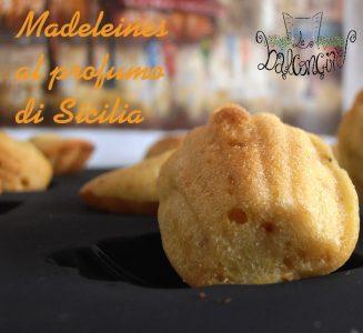 Madeleines al profumo di Sicilia 1