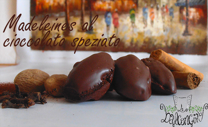 Madeleines cioccolato speziato 1