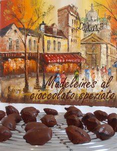 Madeleines cioccolato speziato 2