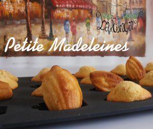 Peite Madeleines 1