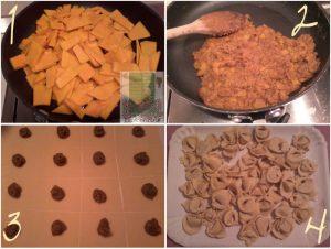 tortelli di zucca - preparazione