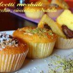 Dolcetti morbidi al pistacchio, cioccolato e Nutella