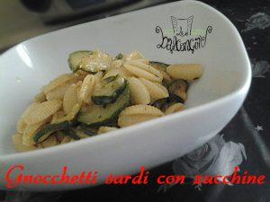 Gnocchetti sardi con le zucchine