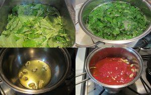 minestra di pasta con i tenerumi
