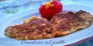 omelette al pollo