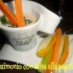 Pinzimonio con salsa alla paprika