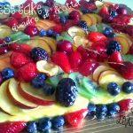 Cheesecake Quadro di frutta