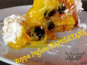 zuppa inglese napoletana fetta