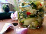 Zucchine sott'olio senza cottura