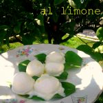 Bocconcini di bufala al limone