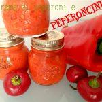 Crema di peperoni e peperoncini