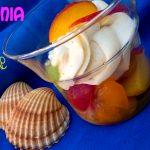 Macedonia di frutta con crema al limone