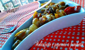 melanzane e peperoni a funghetto 2