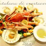 Catalana di crostacei, da servire come ricco antipasto o secondo piatto!