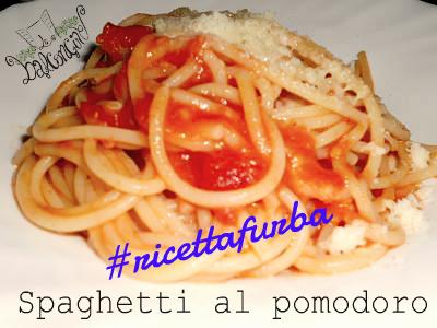spaghetti al pomodoro furbi