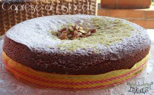 torta caprese ai pistacchi