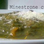 Minestrone con pesto
