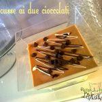 Mousse ai due cioccolati senza glutine nè lattosio