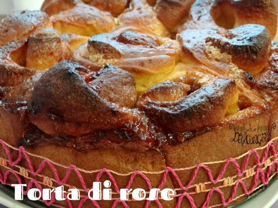torta di rose dolce