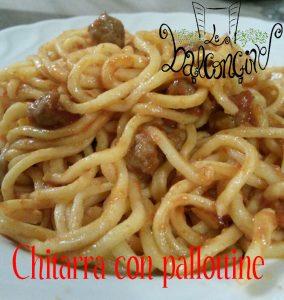 Chitarra con pallottine - 2