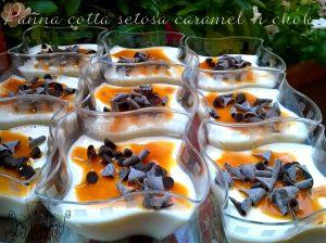 bicchierini Panna cotta caramel 'n chok 2