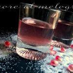 Liquore al melograno delicato e profumato