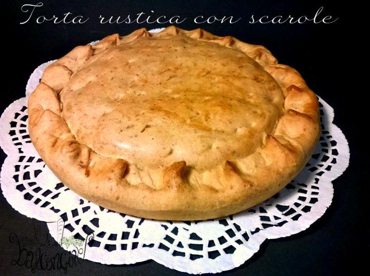 torta rustica con scarole 2