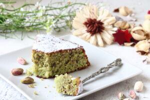 ricetta torta caprese al pistacchio