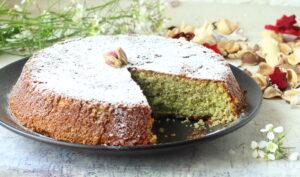 torta caprese al pistacchio ricetta