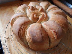 pane sfogliato all'olio