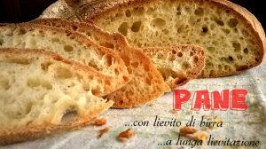 pane fatto in casa a lunga lievitazione