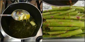 asparagi in crosta di patate