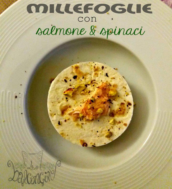 millefoglie con salmone e spinaci 3