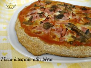 pizza integrale alla birra
