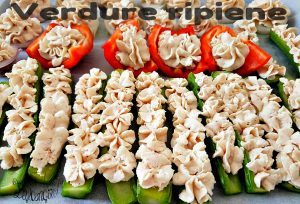verdure ripiene senza carne
