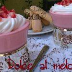 Coppe dolci al melograno