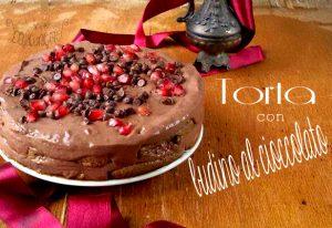 torta di biscotti e crema