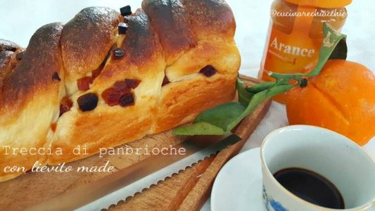 treccia di pan brioche ricetta