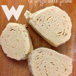 Forza della farina e ricetta dei panini al cioccolato