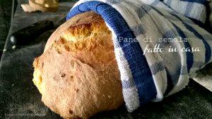 fare il pane in casa ricetta facile