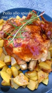 pollo arrosto con le patate
