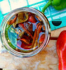 peperoni secchi sottolio