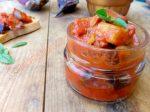 Conserva di caponata siciliana