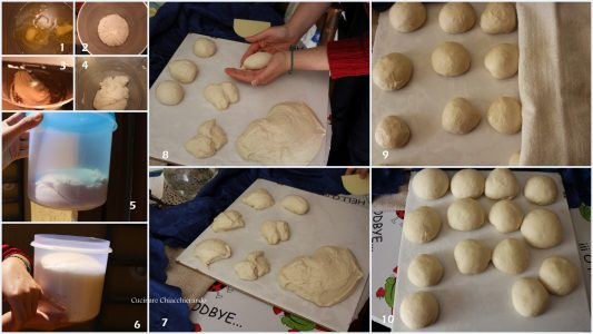 come si fanno le brioche siciliane con lo zucchero