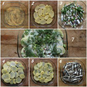 come si fa il timballo di patate e pesce