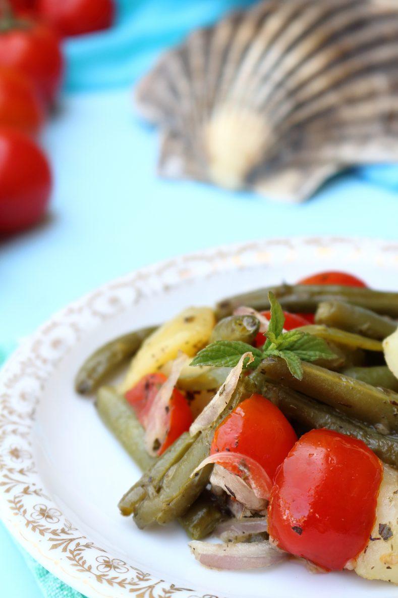 Insalata estiva siciliana con i fagiolini cucinare - Cucinare i fagiolini ...