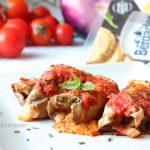 Involtini di melanzane al forno ricetta siciliana