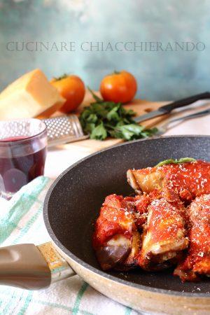 involtini di melanzane ricetta siciliana